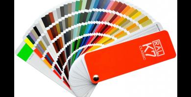 Carta de colores Ral K7