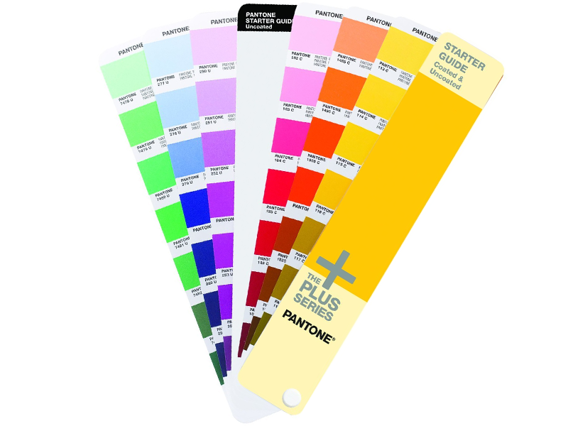 starter guide pantone coated uncoated